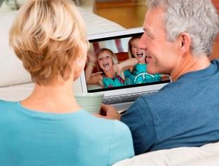 Videoconferencia para adultos mayores